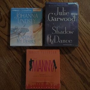 Bundle of 3 new books on CD